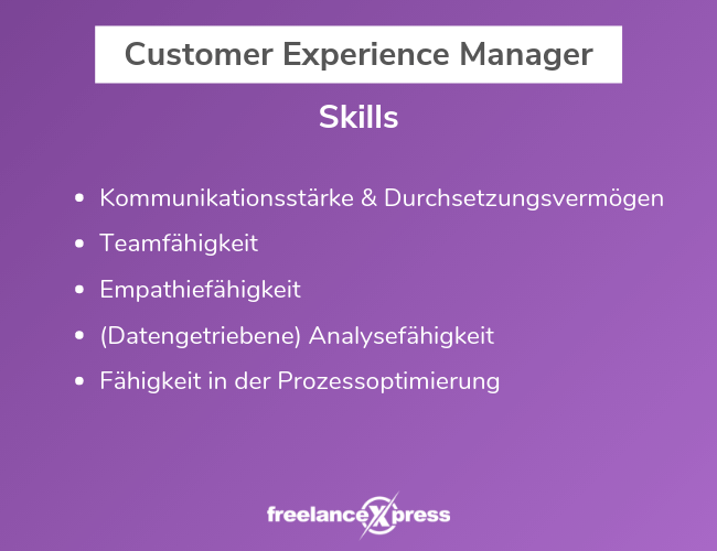 customer-experience-manager-skills